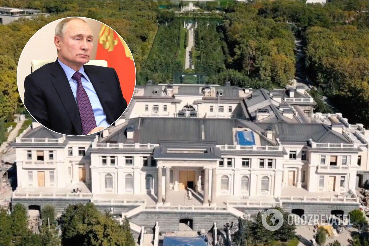 """Дворец"" президента РФ Владимира Путина"