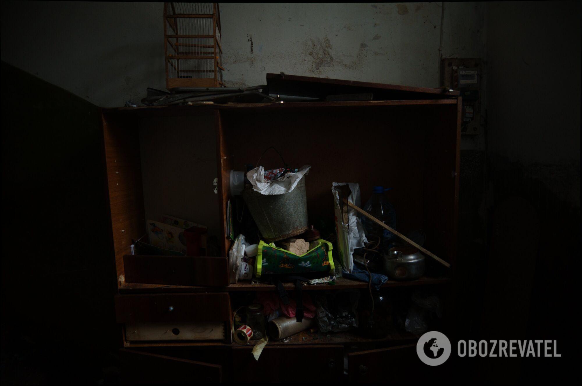 Заброшенная квартира в Харькове, где дети ели собак.