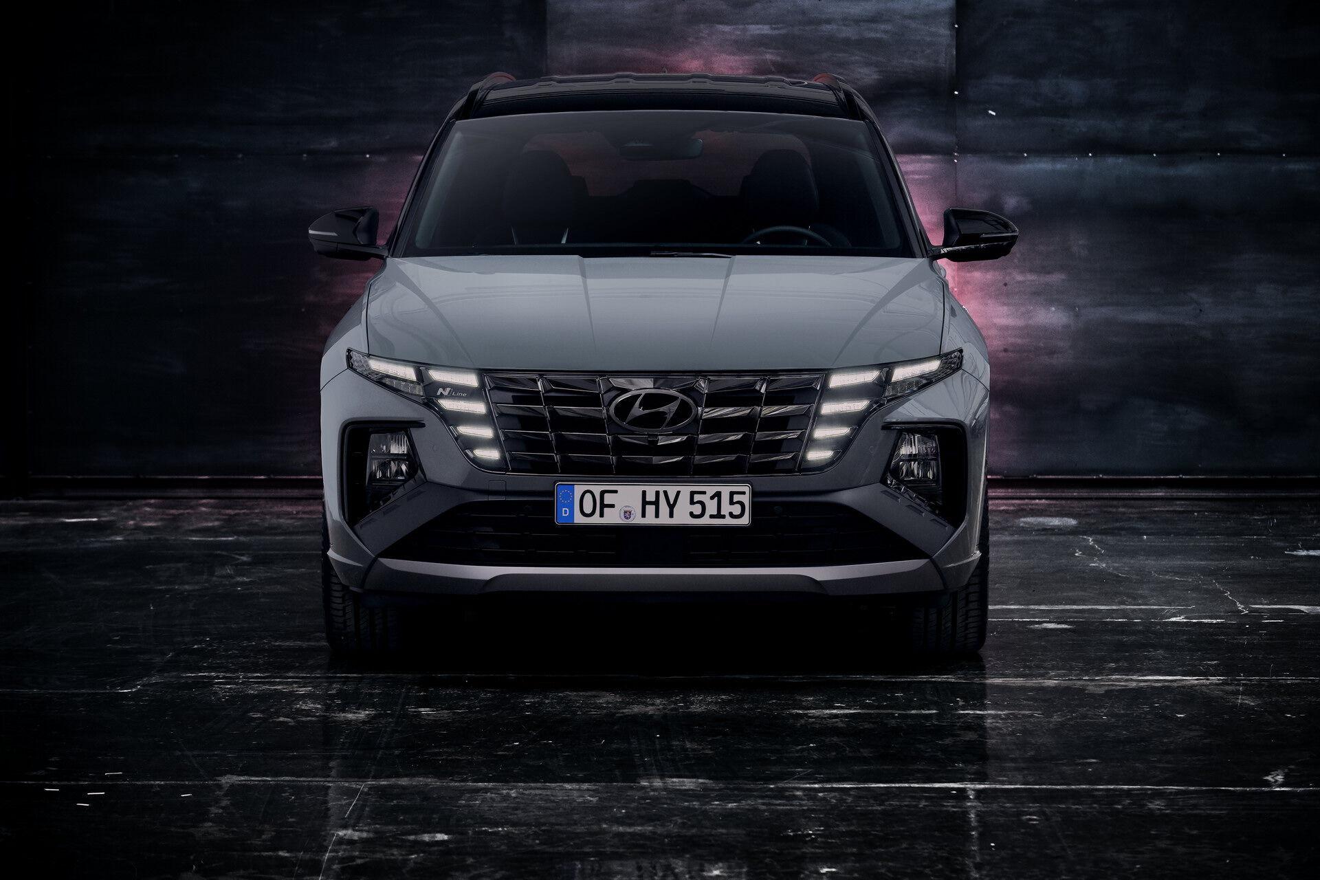 Hyundai презентував спортивну версію Tucson N Line