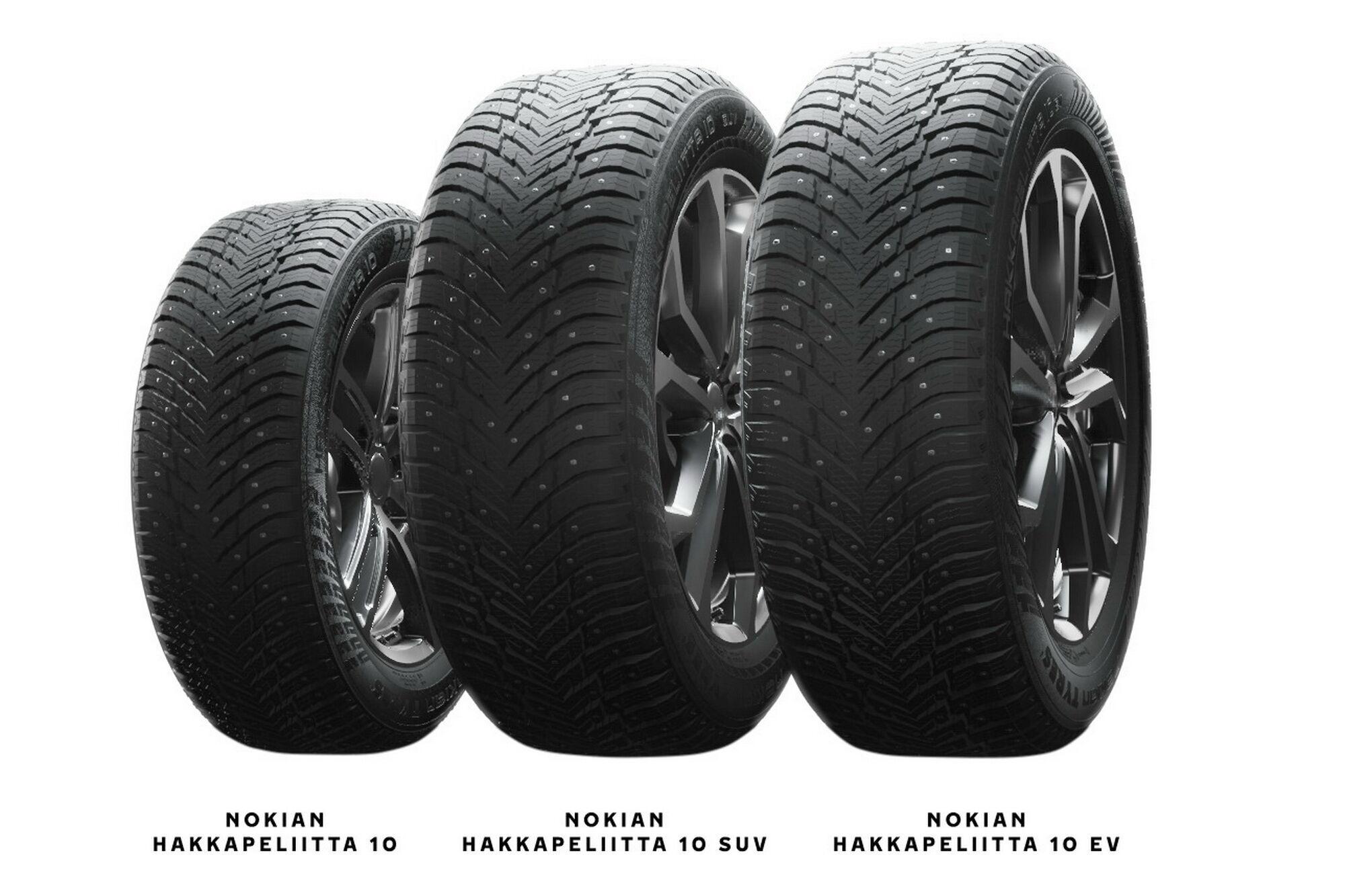 Cемейство шин Nokian Hakkapeliitta 10 представлено тремя моделями