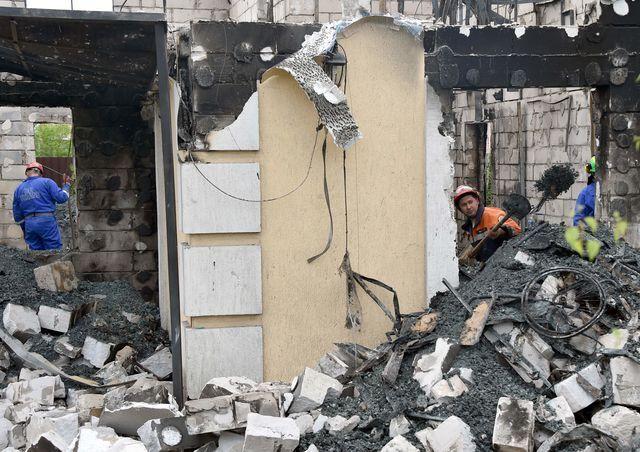 Пожар в доме для пожилых людей в Леточках. Обвиняемый Дмитренко своей вины не признает