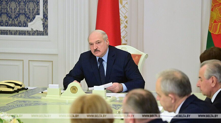 Лукашенко на нараді