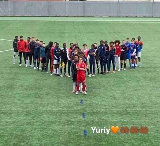 Французький клуб регбі підтримав Юрія і його сім'ю.