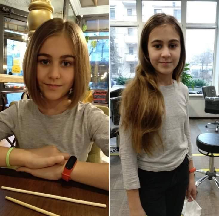Дочь защитника Украины Злата Вовненко