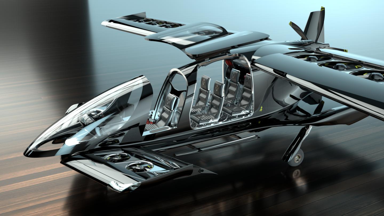 Horizon Aircraft представила прототип летающего авто Cavorite X5