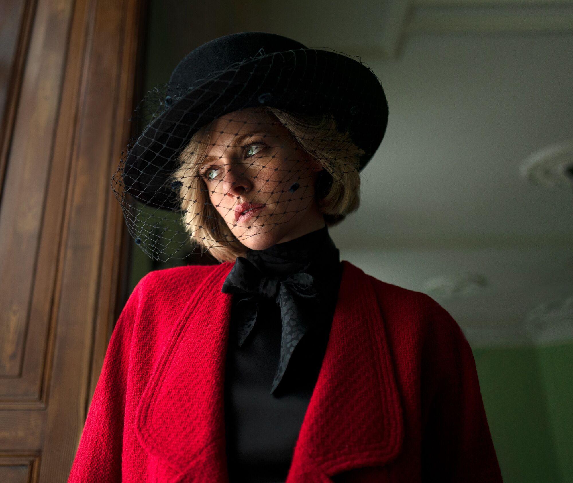 Кристен Стюарт в образе принцессы Дианы