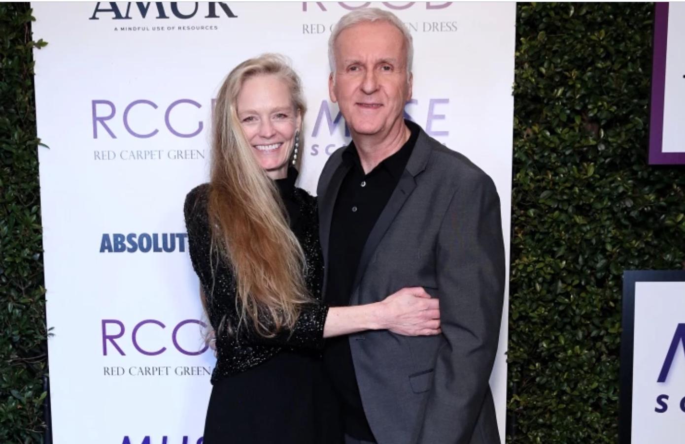 Режиссер Джеймс Кэмерон и его супруга Сьюзи.