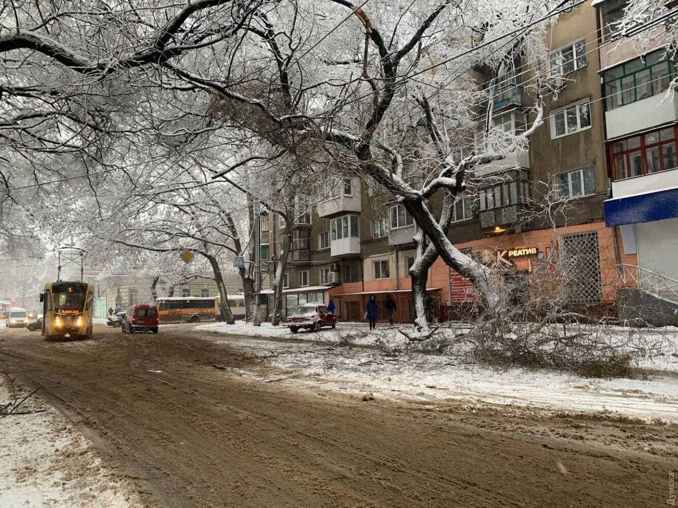 Непогода на Одесщине