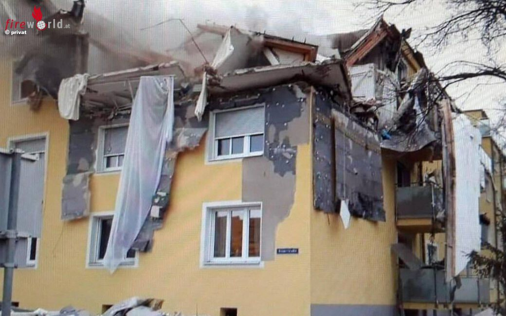 Зруйнований житловий будинок