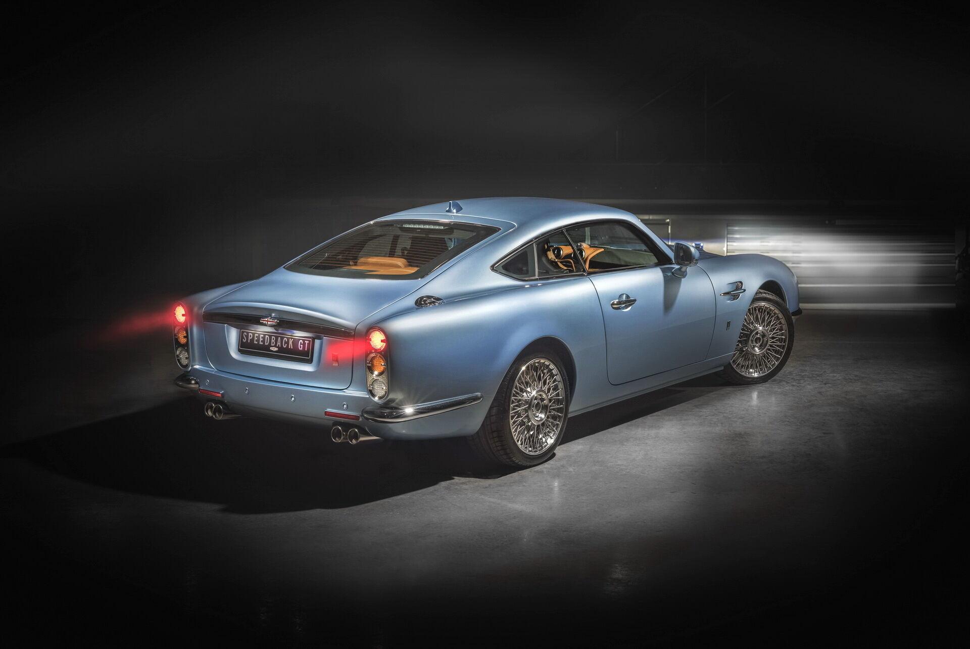 Британська компанія David Brown Automotive (DBA) побудувала нову версію свого купе Speedback GT