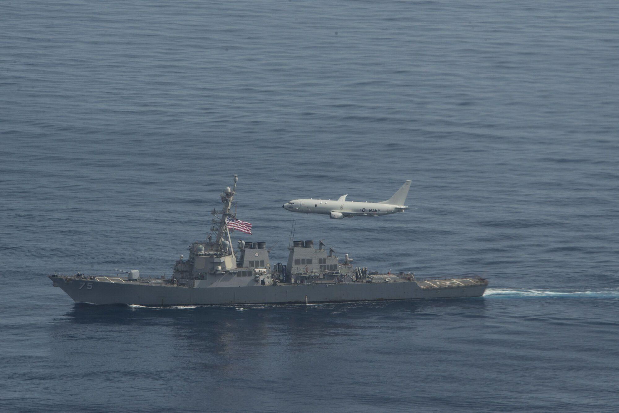 Учения НАТО произошли в Черном море