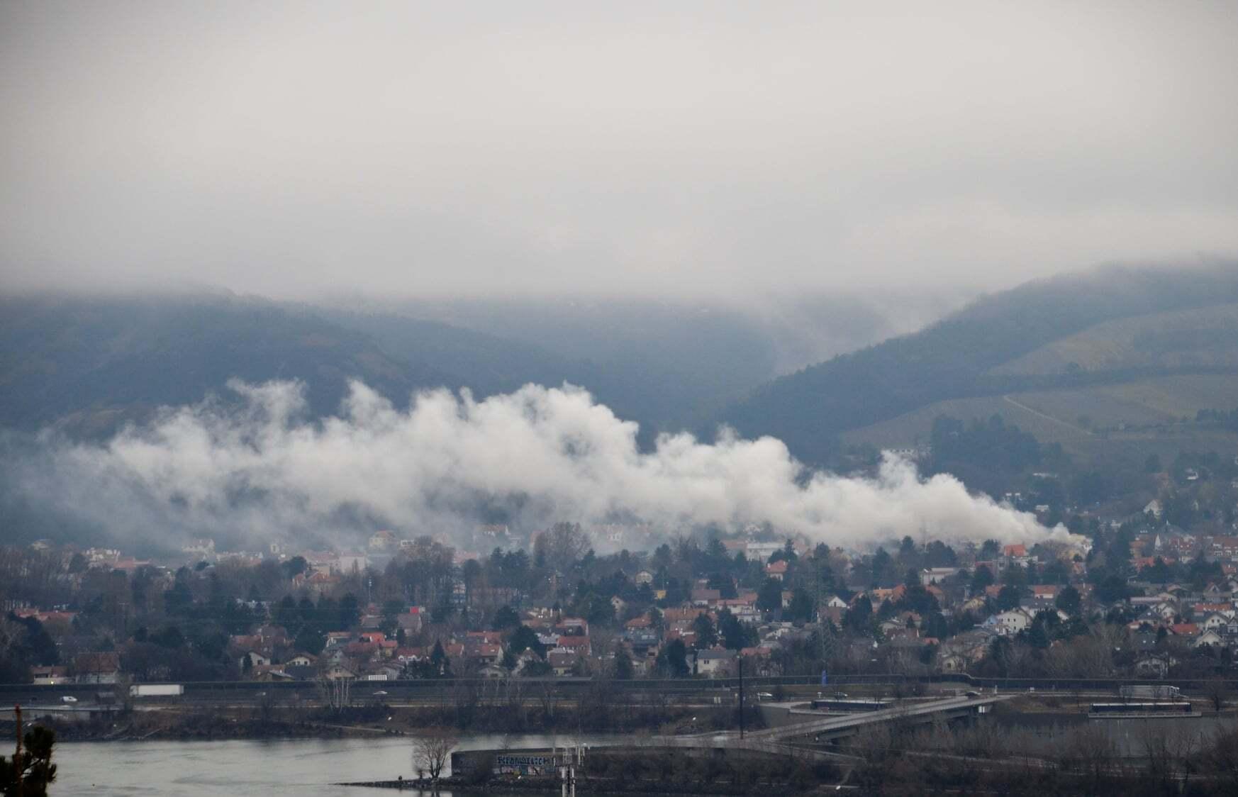 Пожежа в Австрії