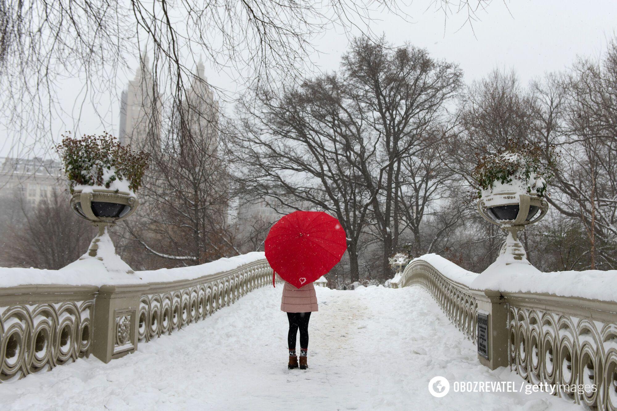 Погода в феврале будет изменчивой.