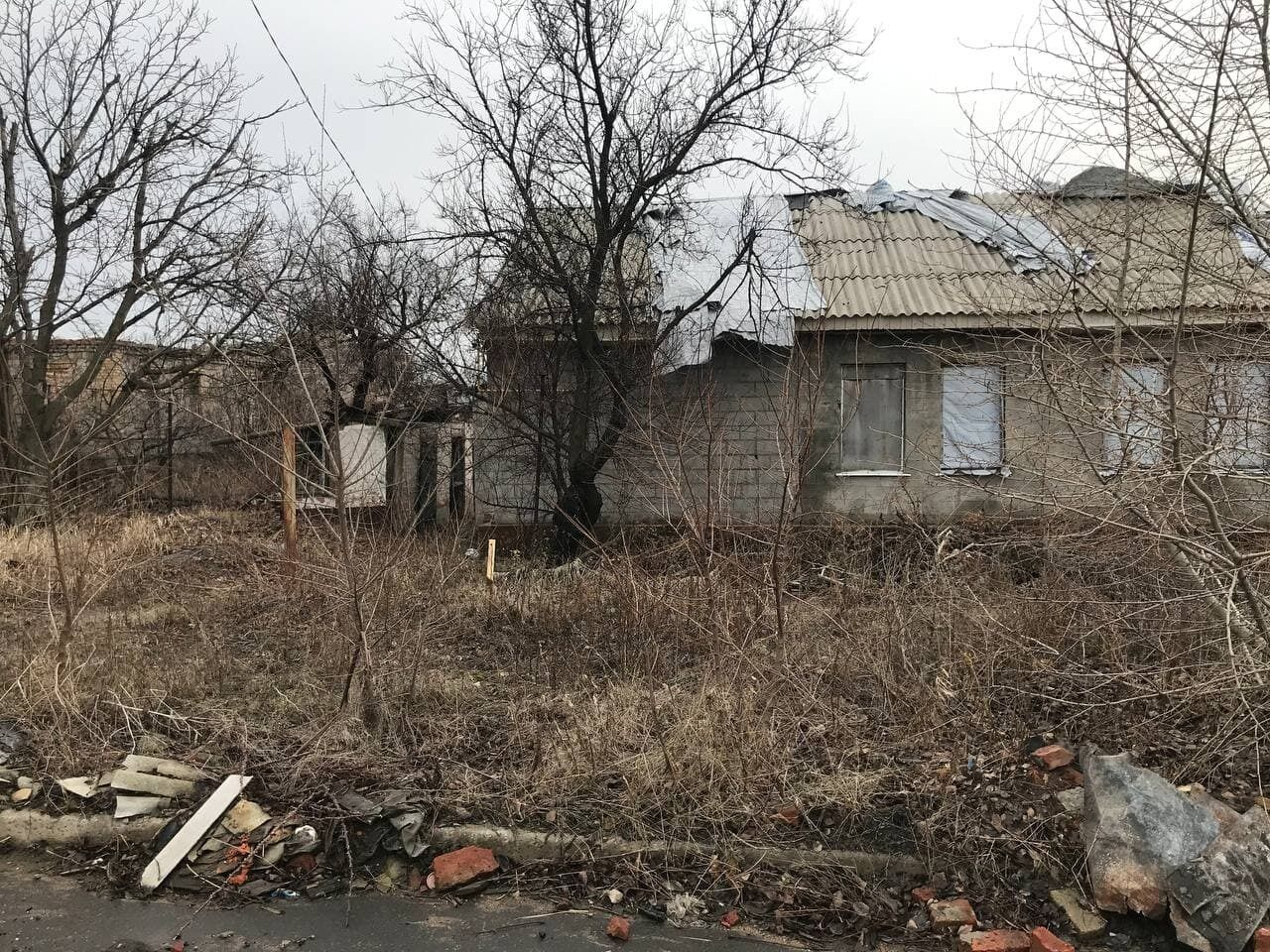 Разруха в оккупированном Донецке