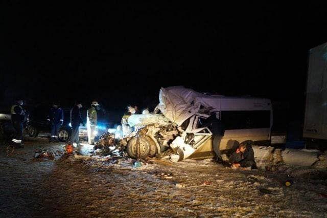 Погибли десять пассажиров