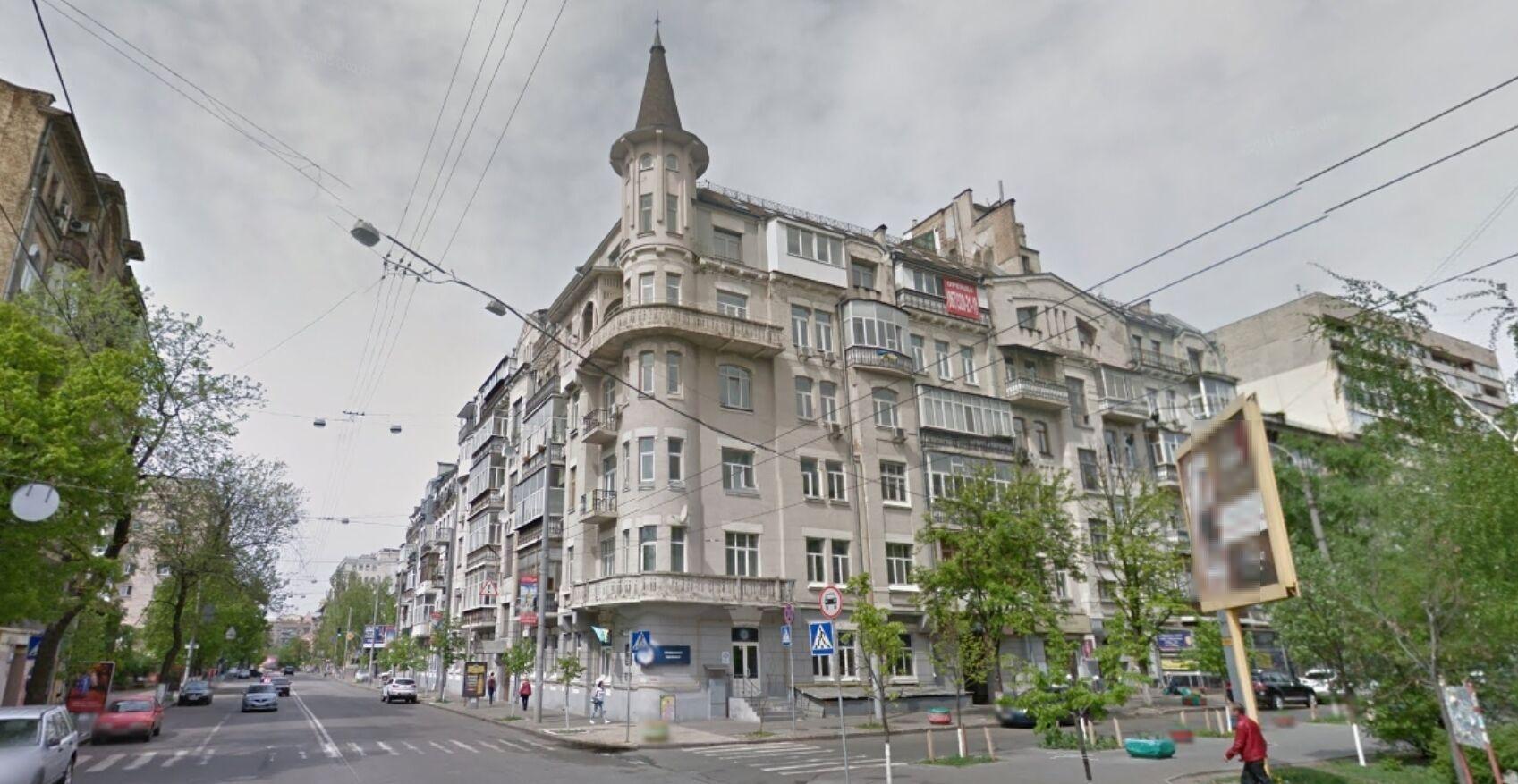 Будинок, у якому розташована квартира Ані Лорак за даними реєстру