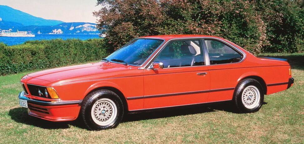 BMW 635 CSi 1985 года
