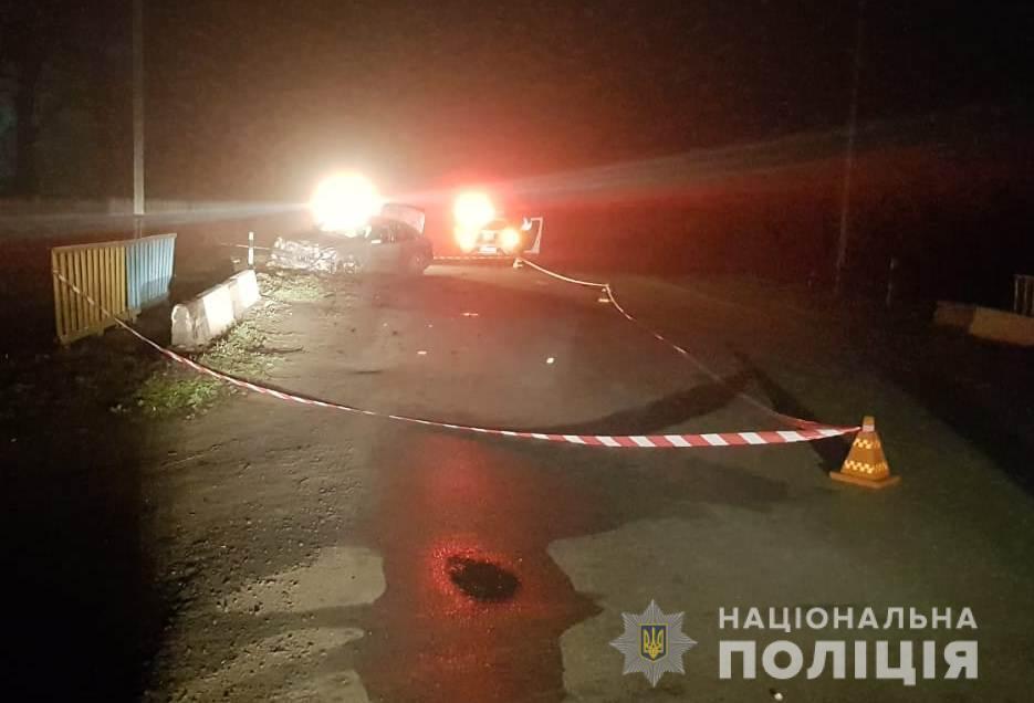 ДТП произошло в поселке Большая Михайловка на Одесщине
