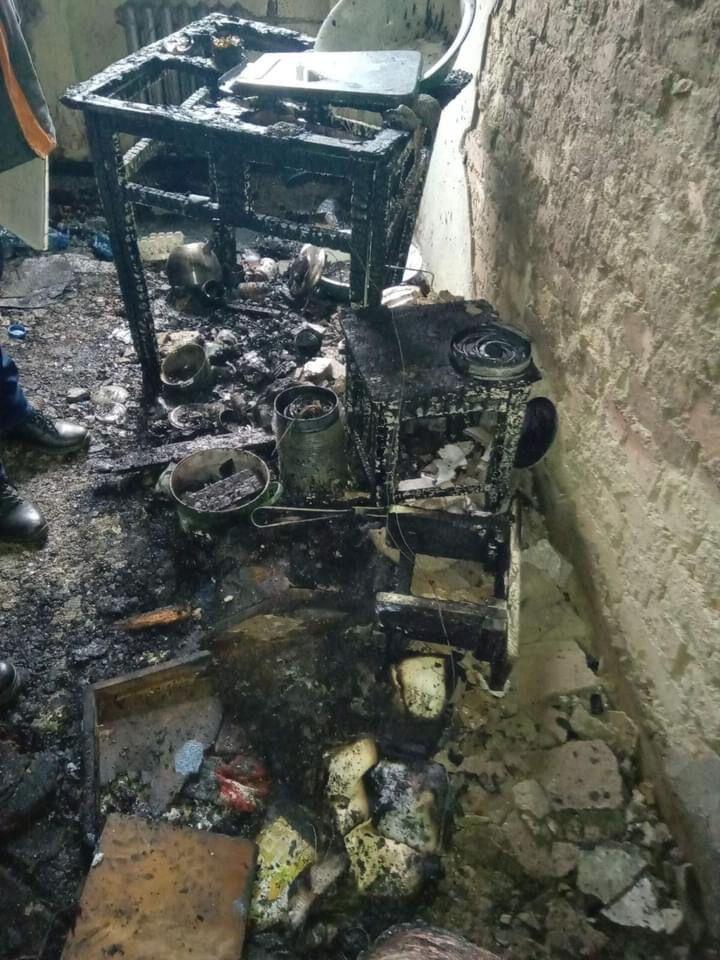 Вогонь пошкодив меблі та речі домашнього вжитку