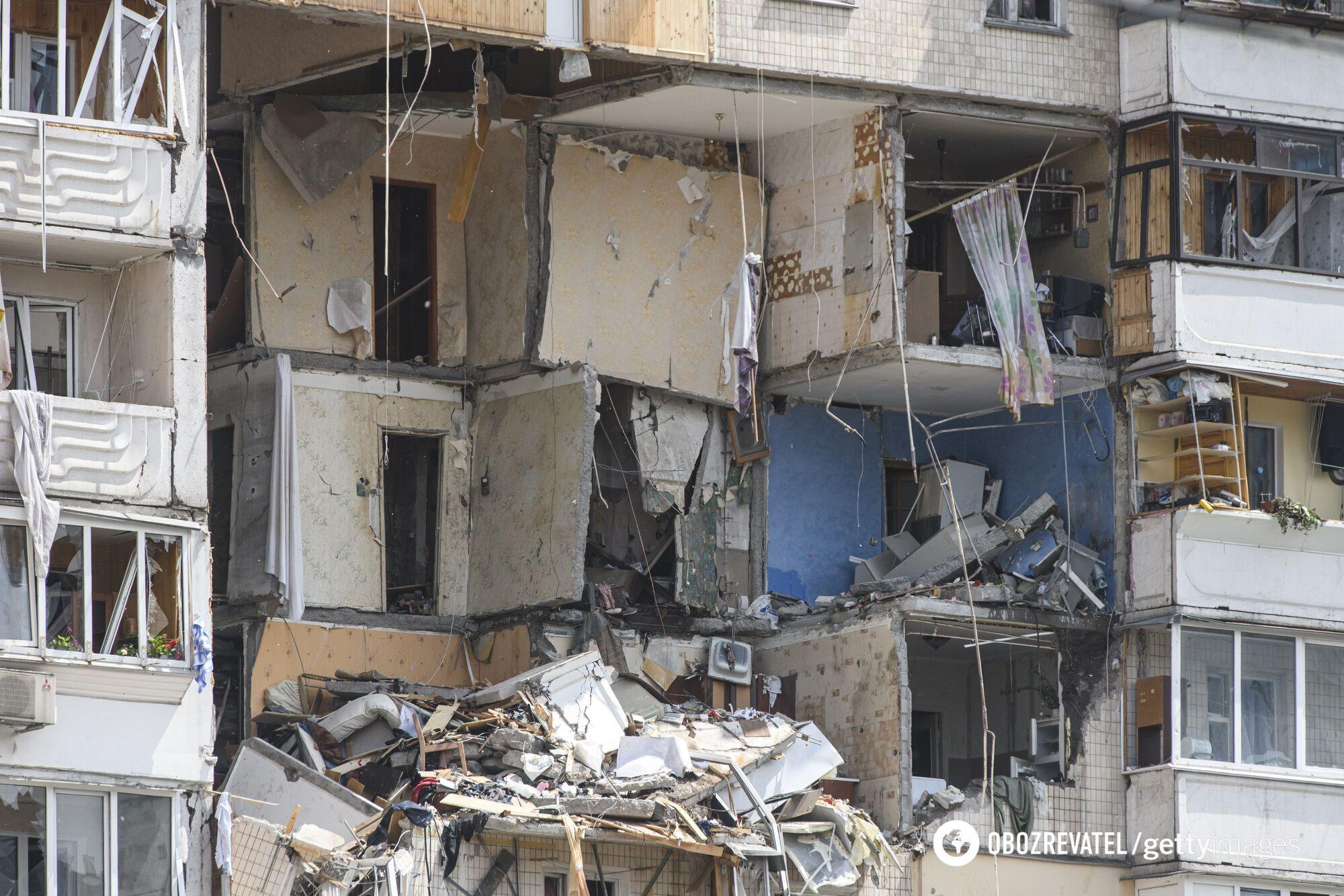 Взрыв дома на Позняках