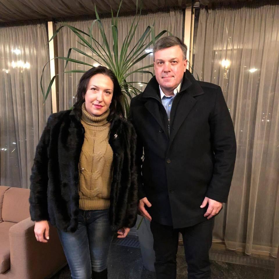 Встреча с дочерью Олега Приходько Натальей