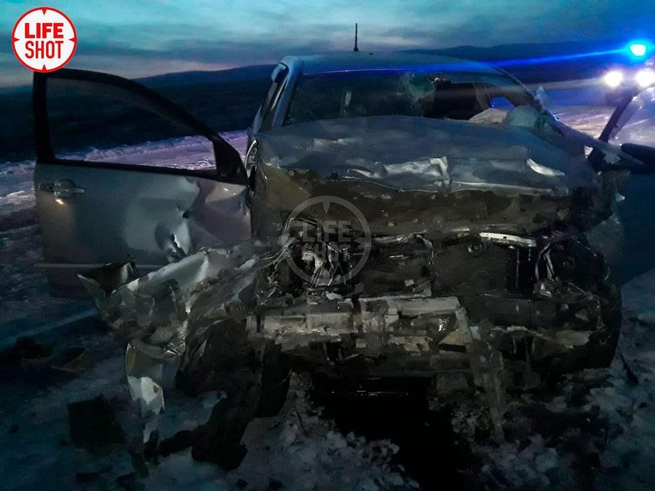 Водитель одного авто не справился с управлением