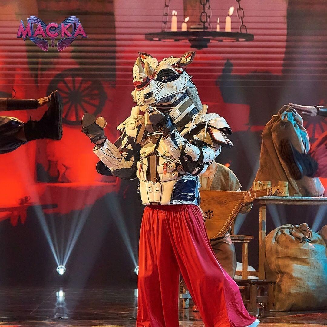 Мужественный Носорог на шоу