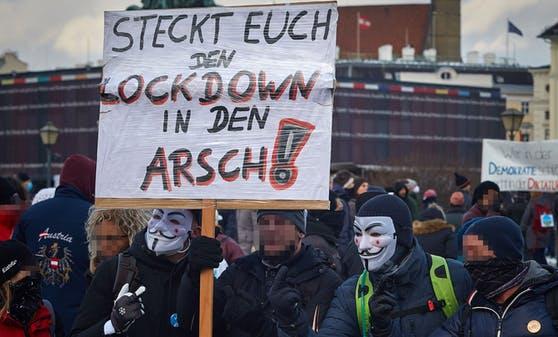 Поліція Відня розігнала демонстрацію через недотримання карантинних заходів