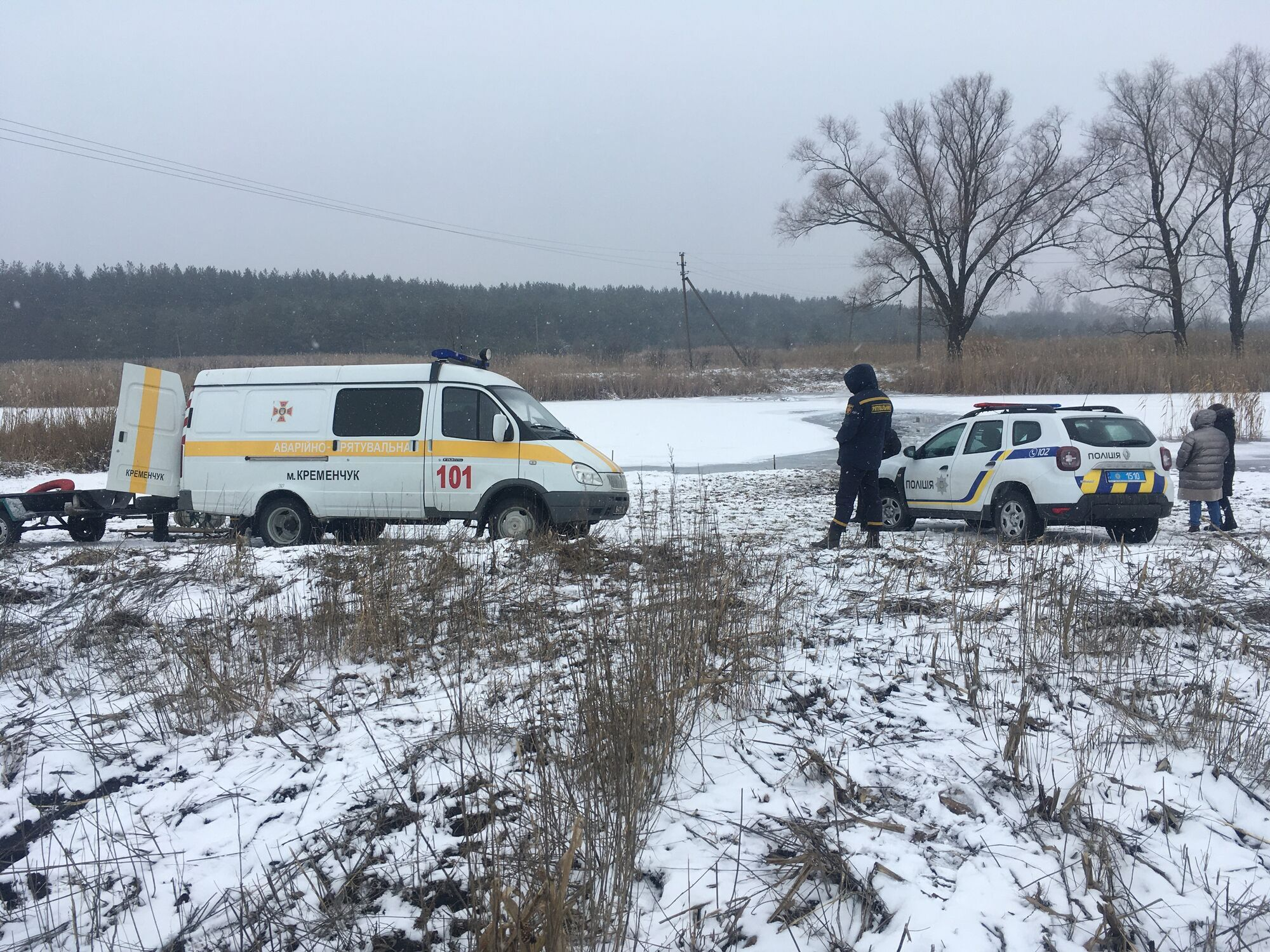 З-під льоду в річці Тагамлик дістали тіла двох жінок.