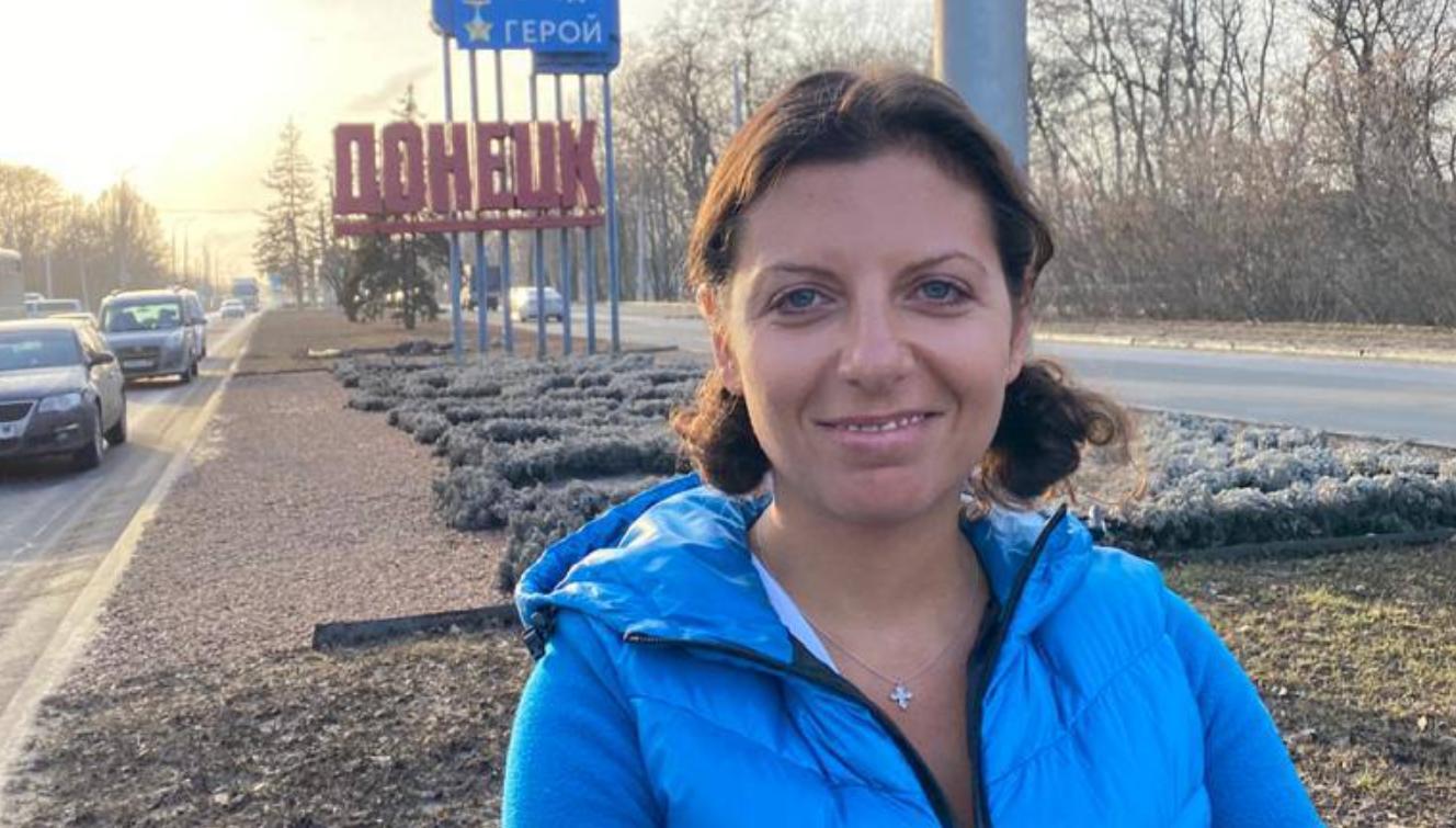 Маргарита Симоньян приехала в оккупированный Россией Донецк
