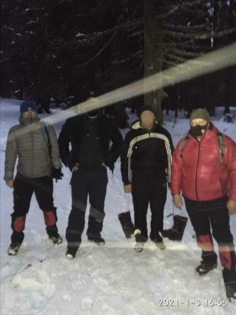В Карпатах спасли туриста.
