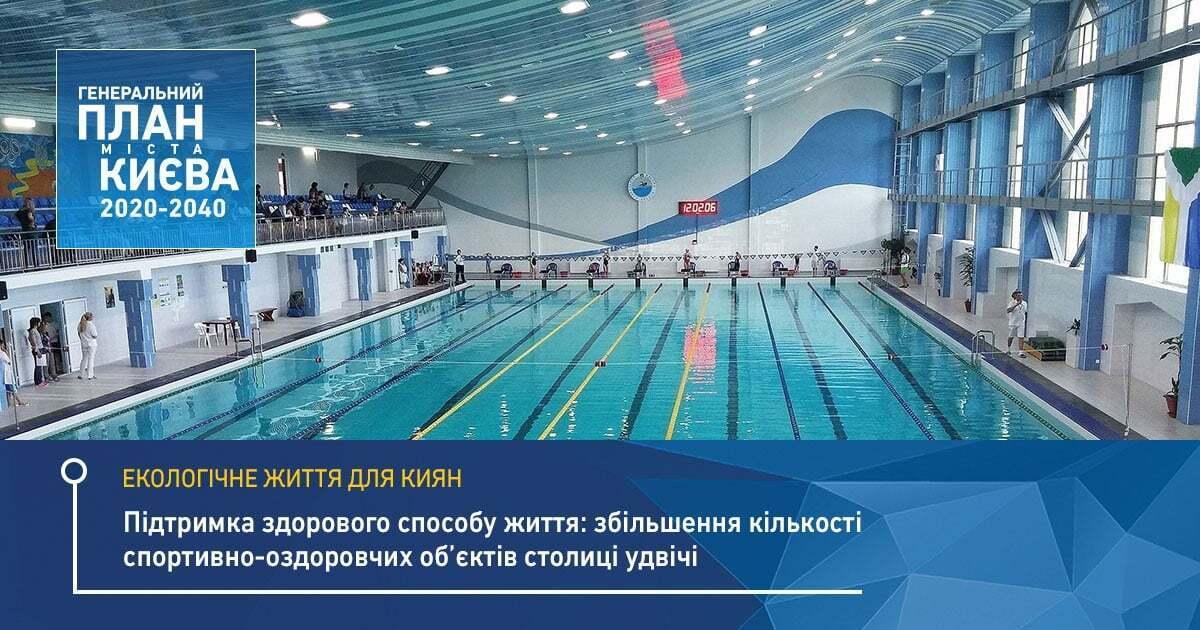 В Киеве увеличат количество спортивных комплексов