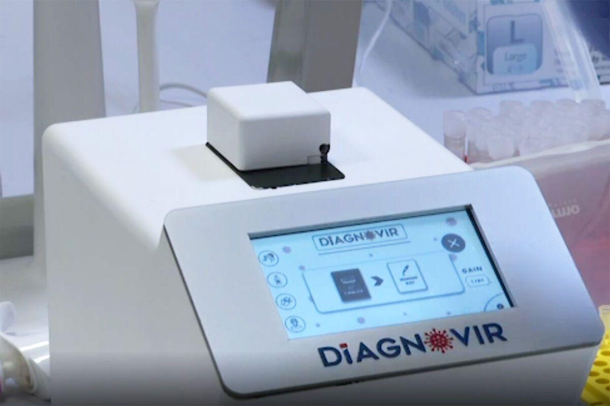 Прилад Diagnovir розробили на основі нанотехнологій