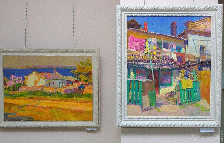 Сергій Лозовський був живописцем-пейзажистом.