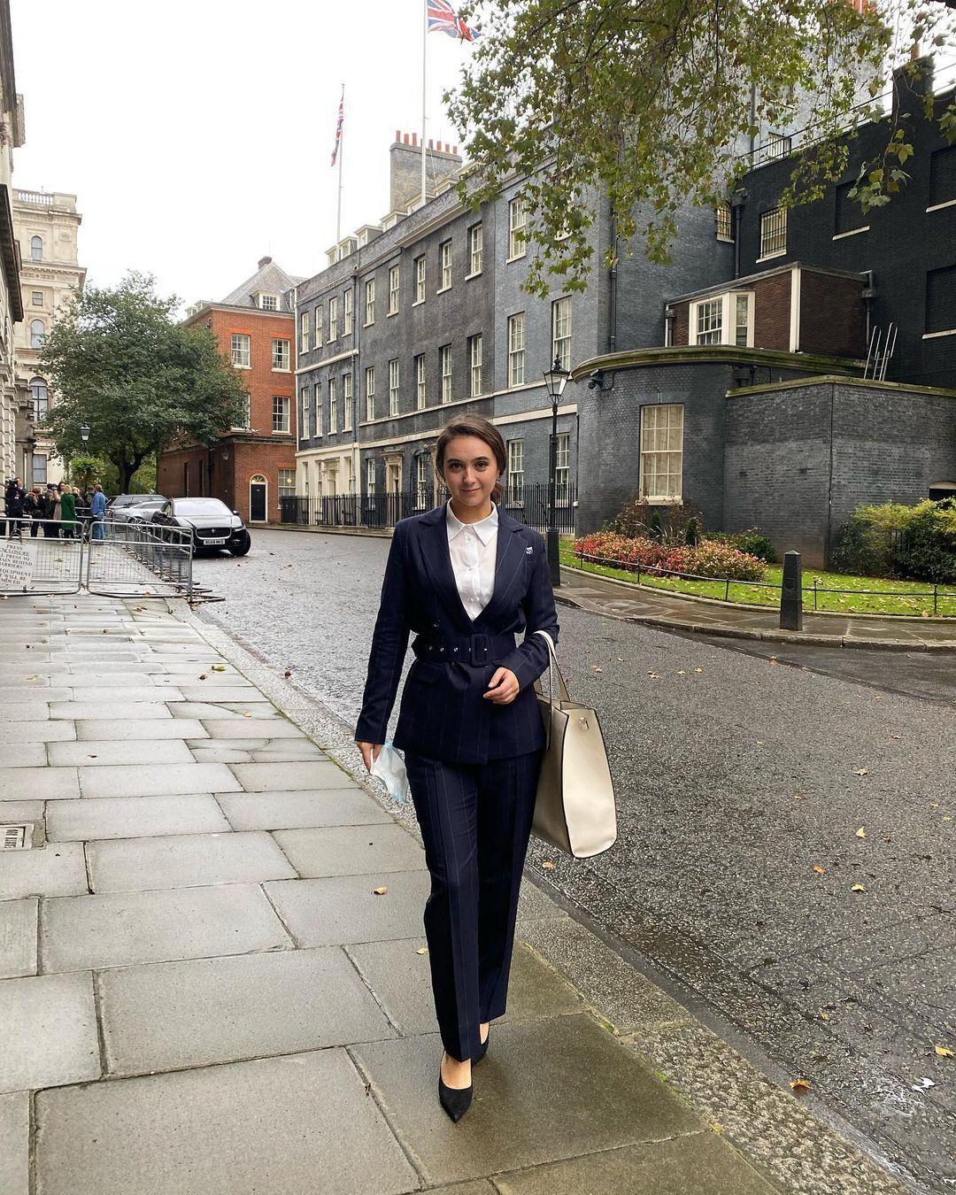 Юлия Мендель в Лондоне