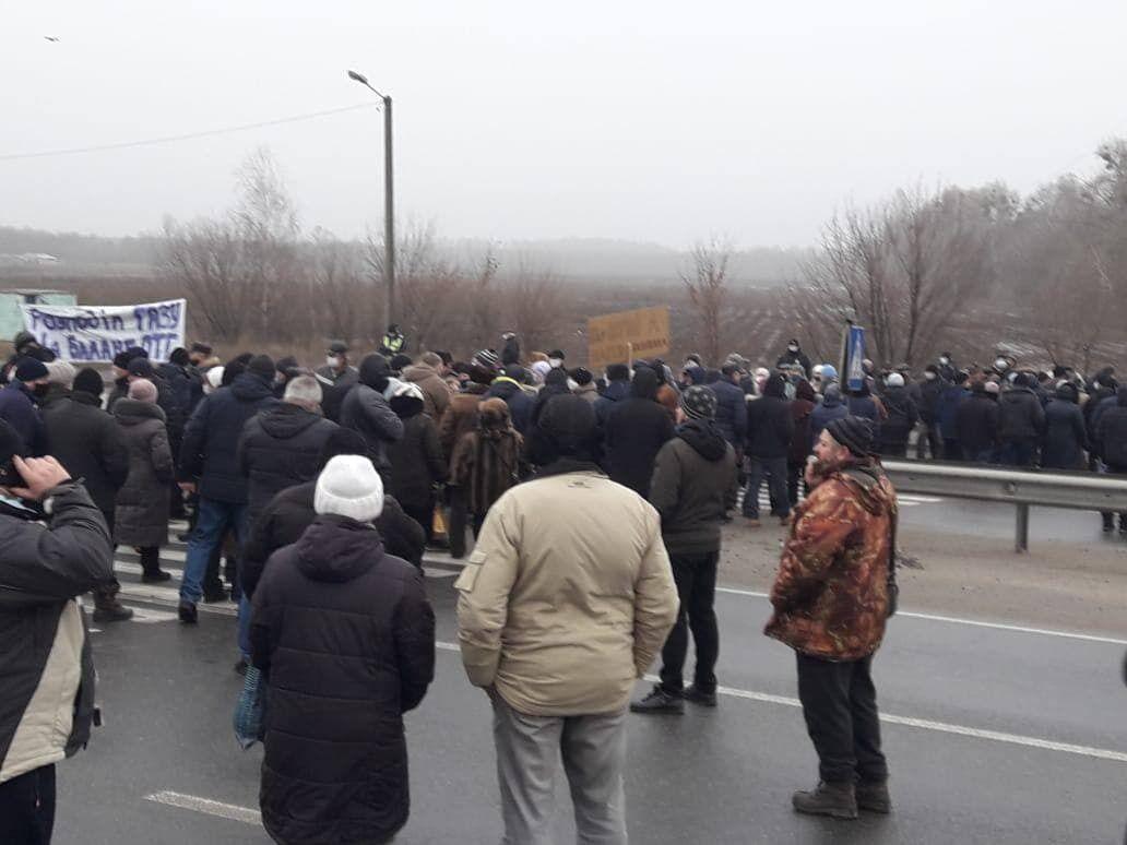 Ранее такие протесты уже устраивали на Полтавщине