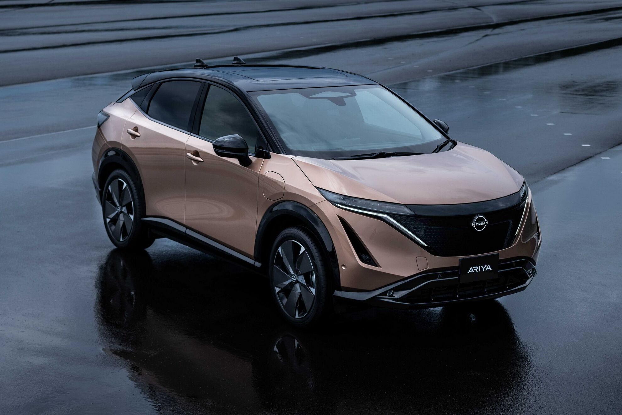 """Nissan Arya """"поділиться"""" платформою CMF-EV з двома електромоторами"""