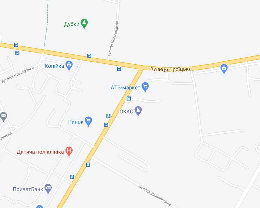 ДТП трапилася на перетині вулиць Космонавтів та Троїцької в Інгульському районі Миколаївської області
