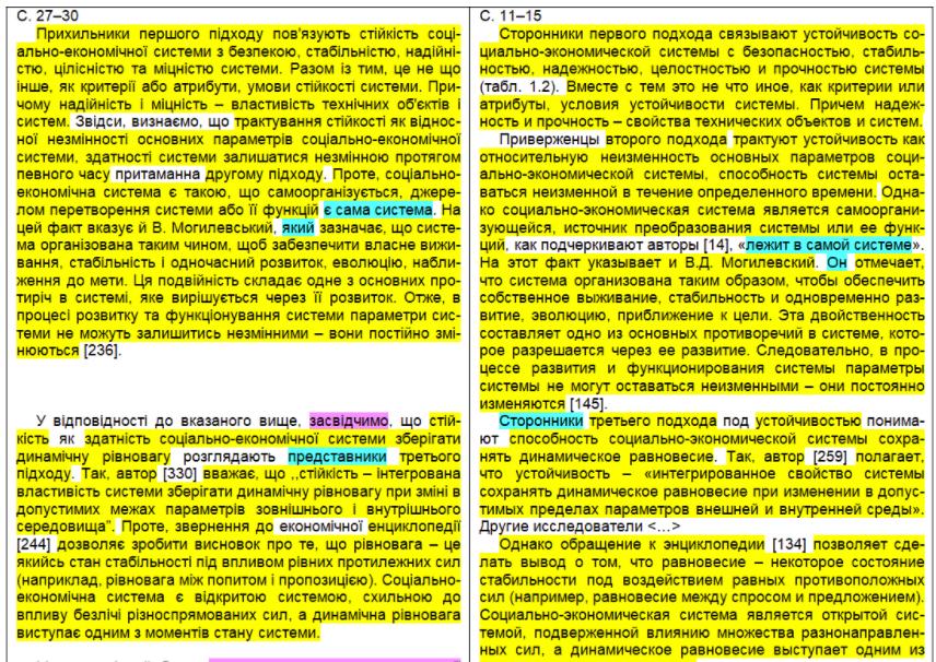 Перекладений Маргасовою текст