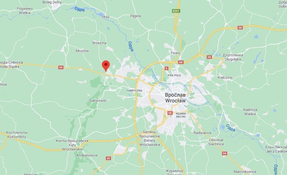 Інцидент стався в районі Лесниця