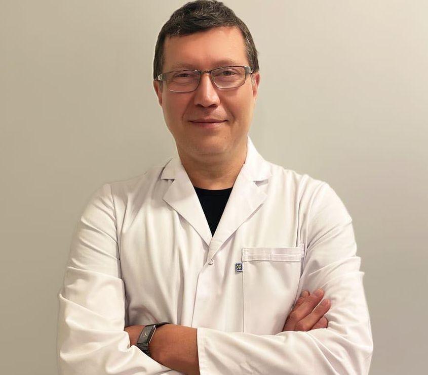 Лікар Ярослав Куляба.