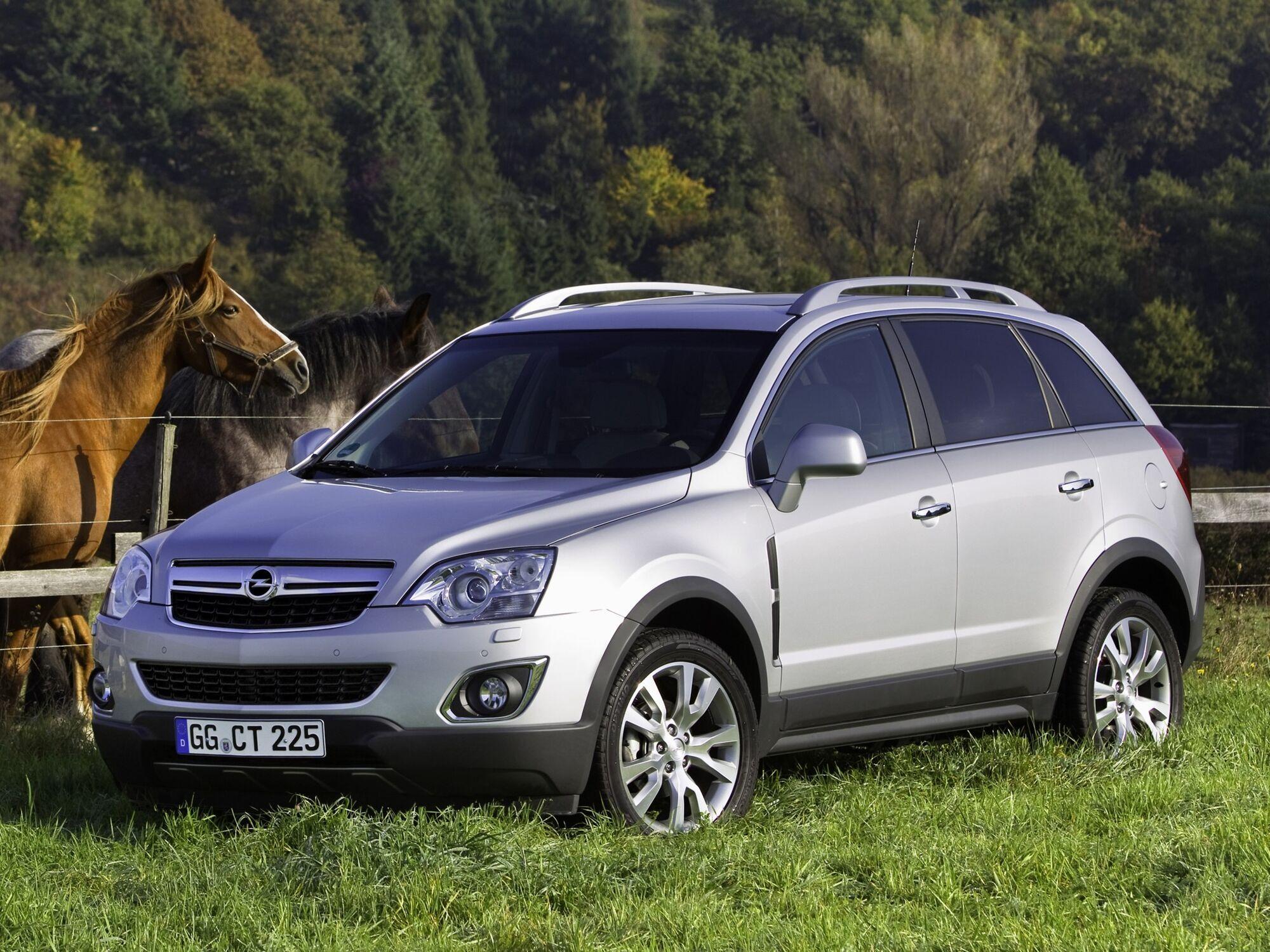 Opel Antara виявився першою пробою німецького бренду в сегменті кросоверів