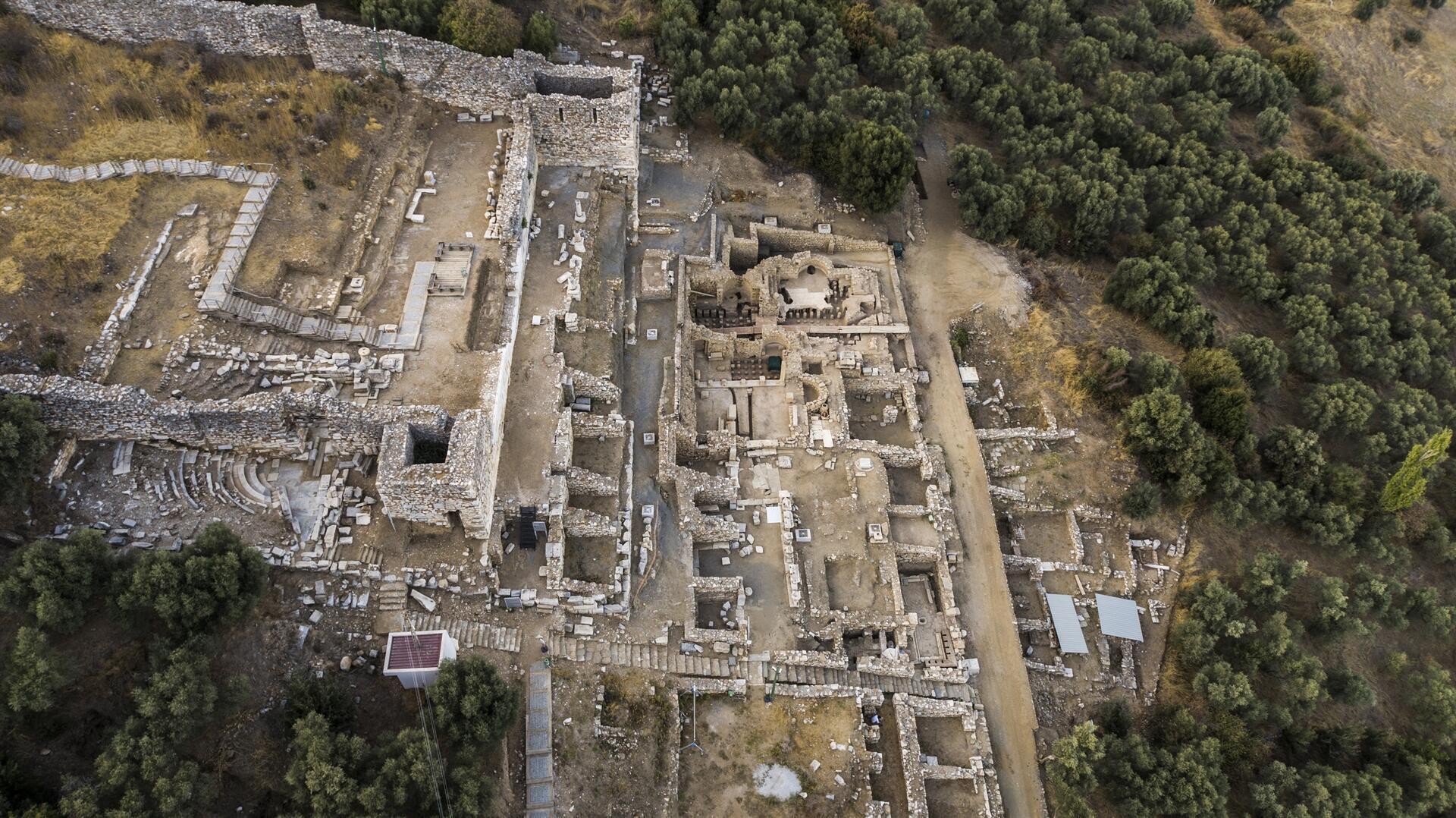 Древний город Метрополис