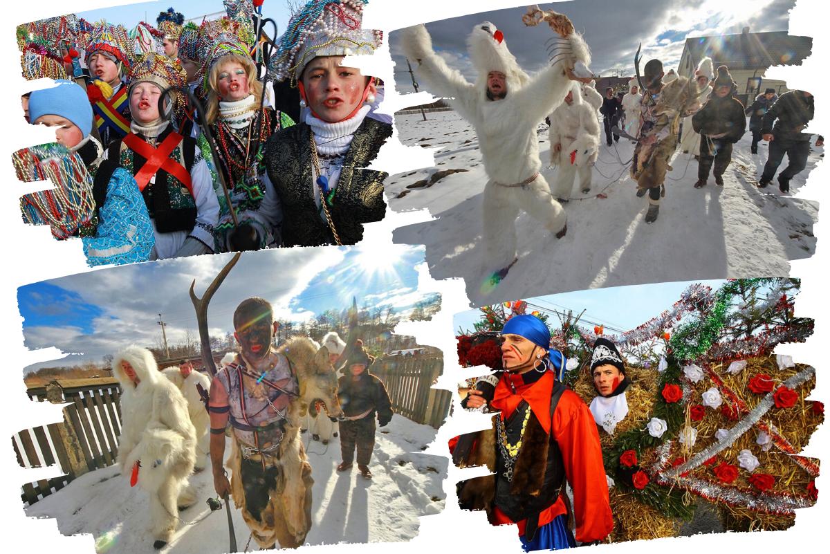 Украинские переодевания на праздник Маланки