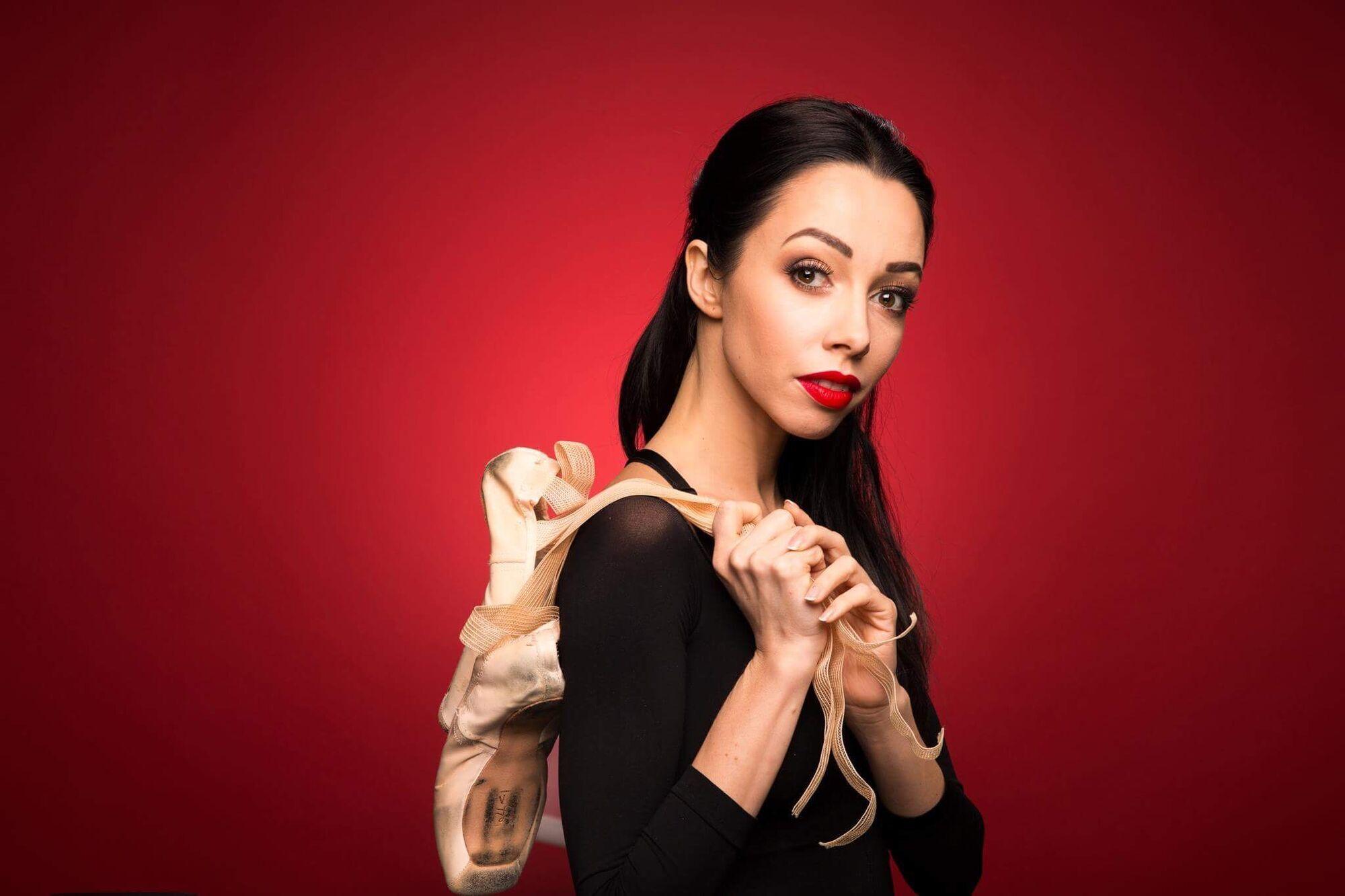 Украинская прима-балерина Екатерина Кухар