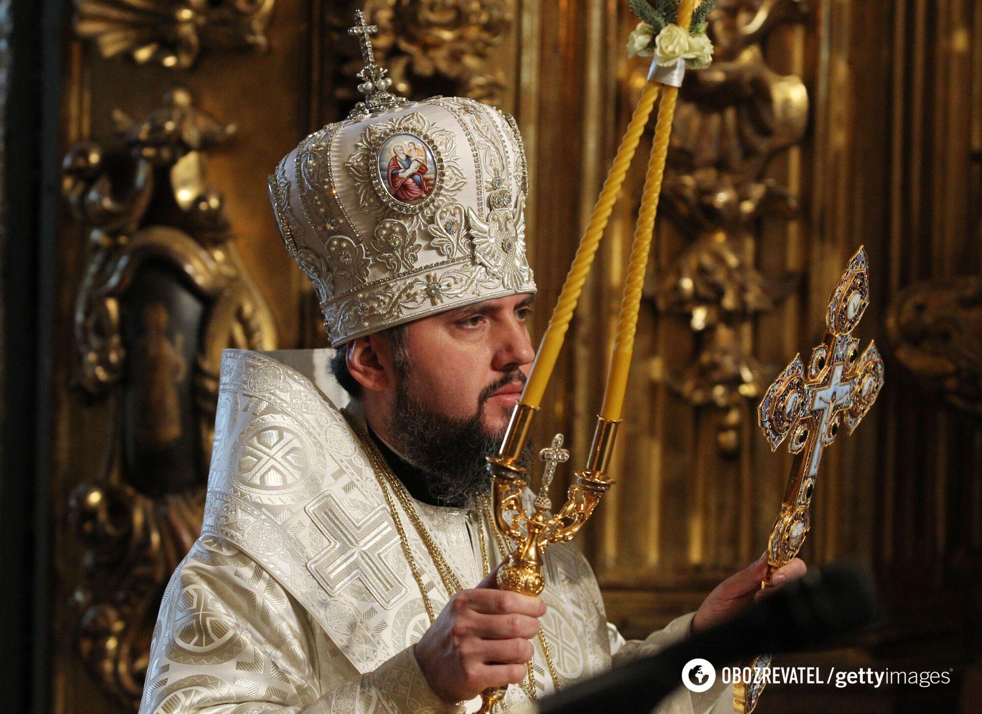 Глава ПЦУ, митрополит Епіфаній