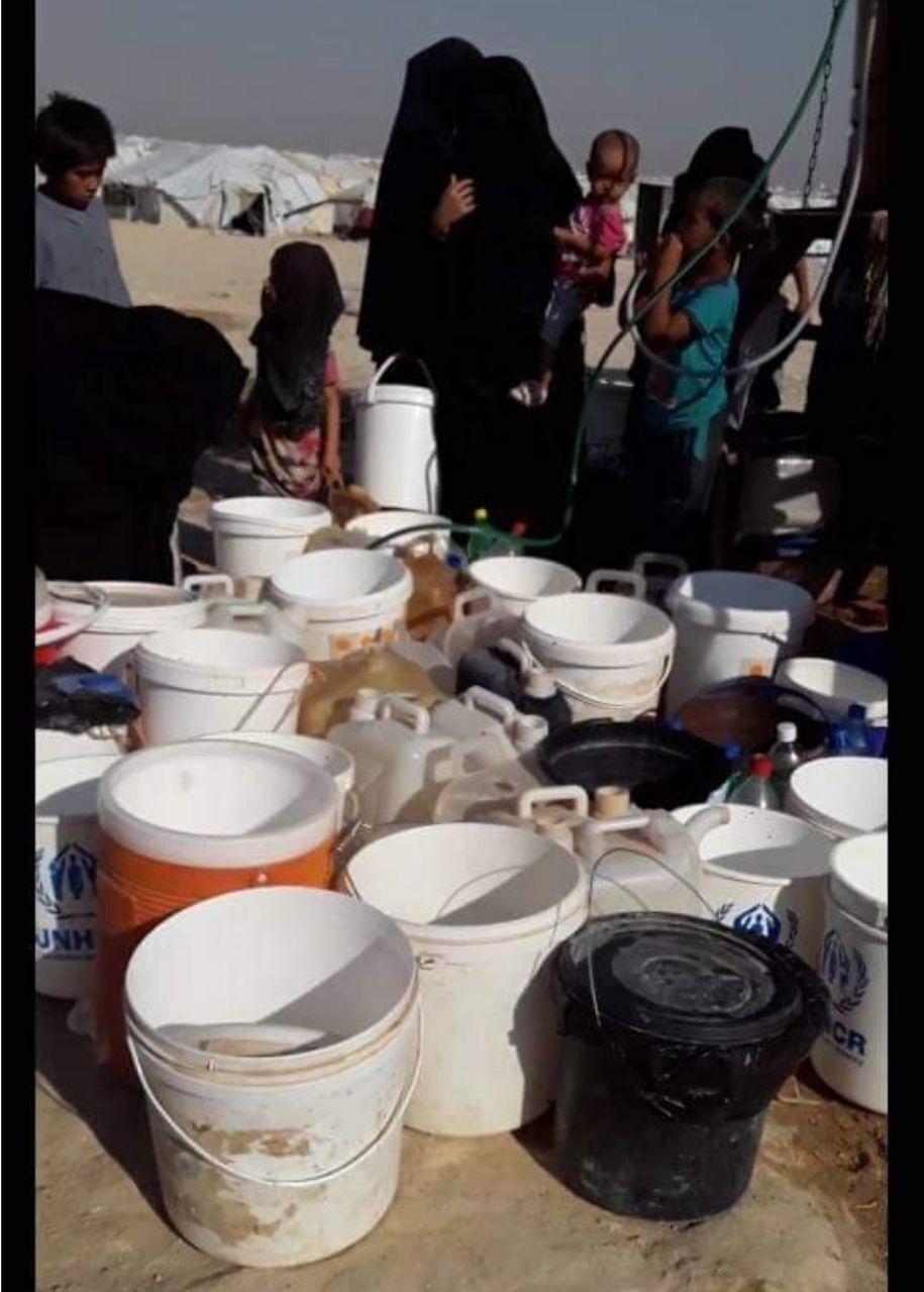 Жизнь в лагере Аль-Хол