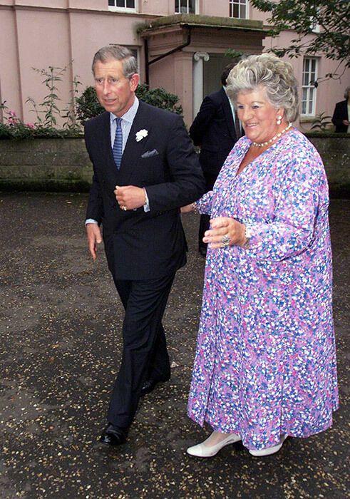 Леди Мери Колман с принцем Чарльзом