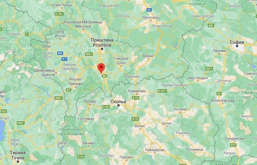 У місті Урошеваць стався вибух у кафе
