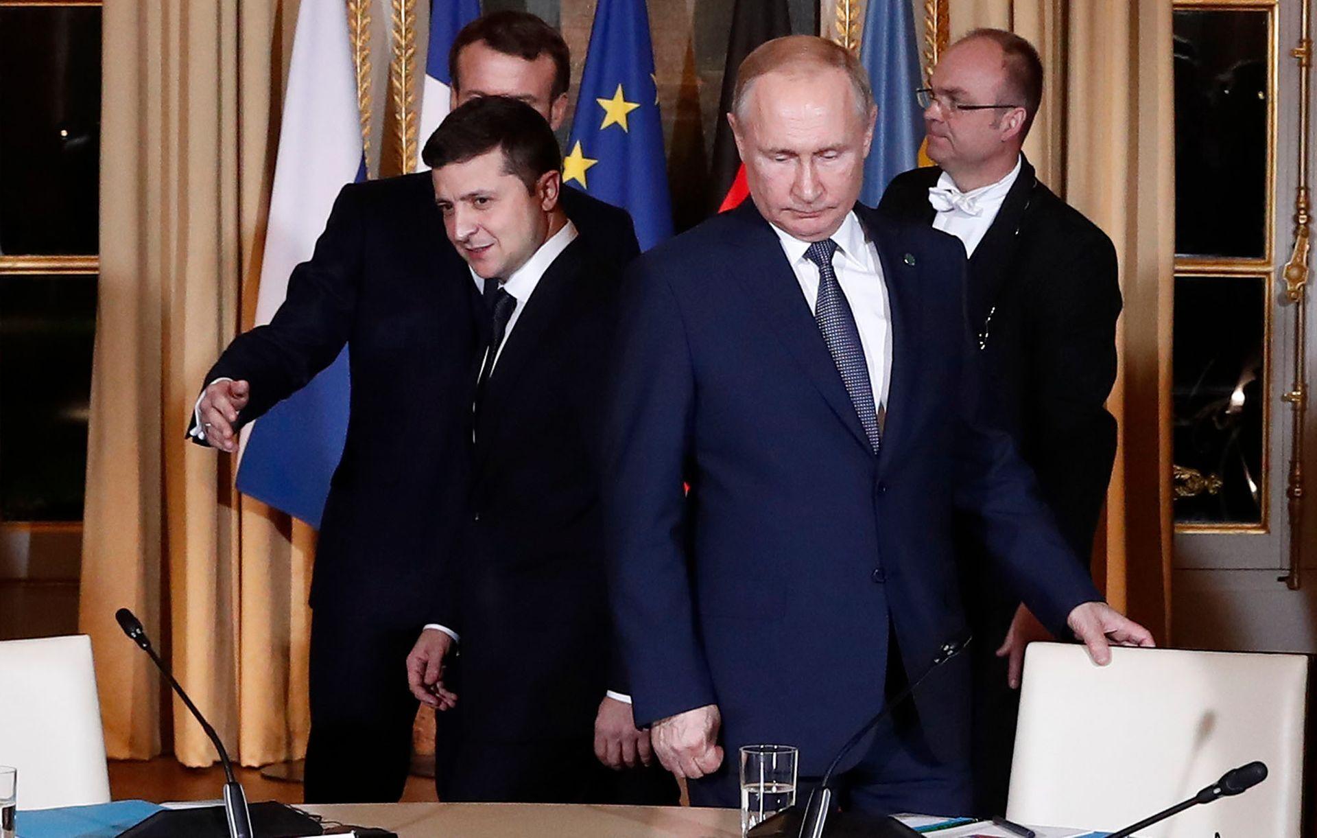 Последний саммит в Нормандской формате на уровне глав государств состоялся в декабре 2019 года
